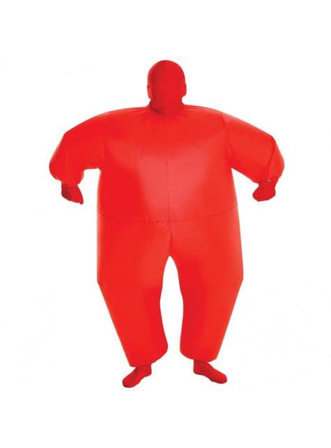 Disfraz hinchable megamorph rojo infantil