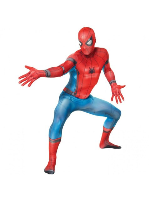 Déguisement Spiderman Homecoming Morphsuit adulte