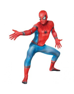 Spiderman Homecoming Morphsuit kostuum voor volwassenen