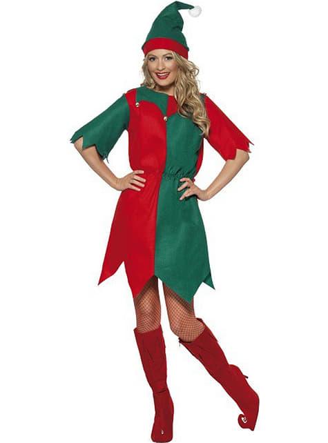 Disfraz de elfa para adulta