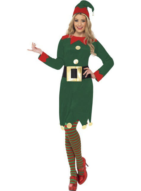 Elfin Kostüm grün