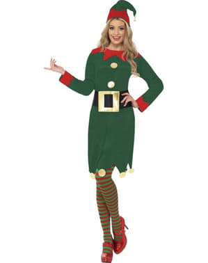 Green Elf Adult Costume