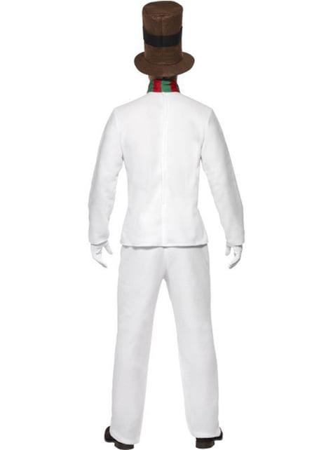 תלבושות למבוגרים Snowman אלגנטי