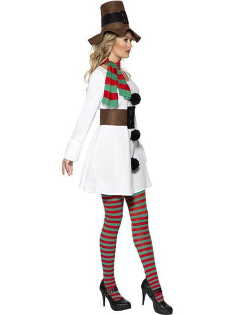 Kostium śnieżny bałwanek damski