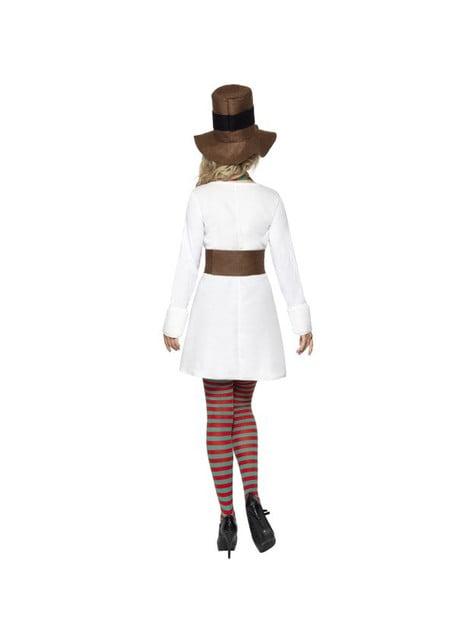 Disfraz de Muñeco de Nieve Classic para mujer - original
