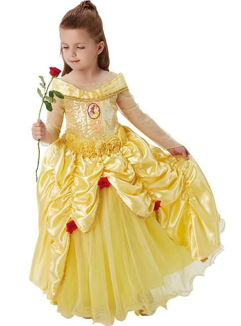 Disfraz de Bella premium para niña