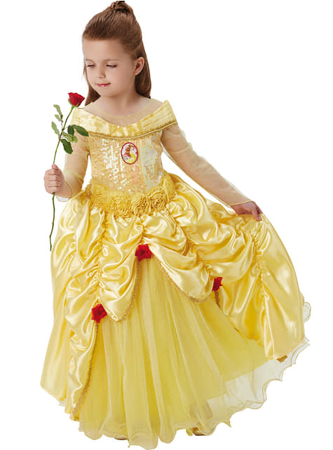 Premium Belle costume for girls