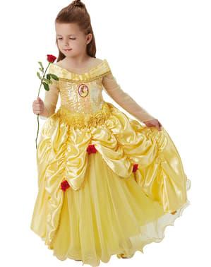 Belle Kostyme til Jenter - Skjønnheten og udyret
