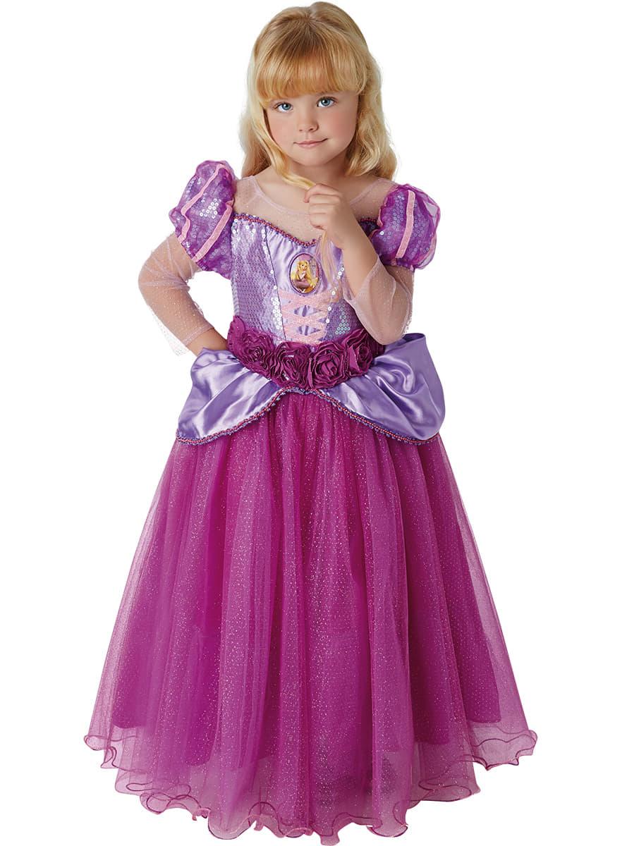 Premium Rapunzel costume for girls  sc 1 st  Funidelia & Premium Rapunzel costume for girls. The coolest | Funidelia