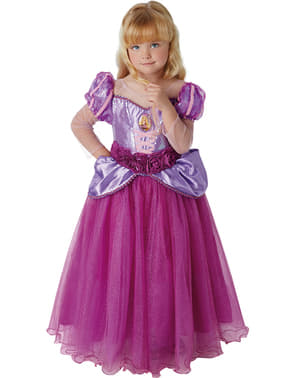 Costume da Rapunzel premium per bambina