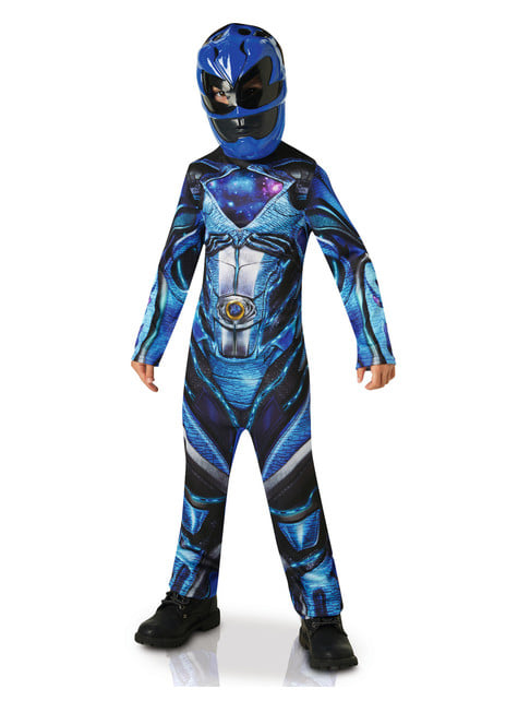 Disfraz de Power Ranger azul Movie para niño - infantil