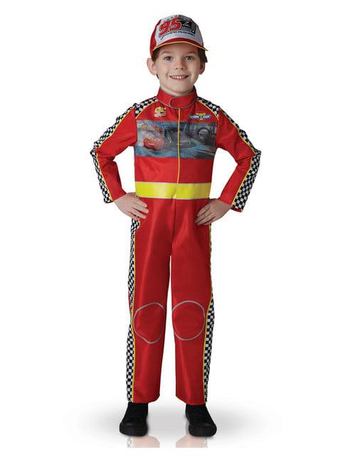 Fato de Carros 3 Faísca McQueen infantil