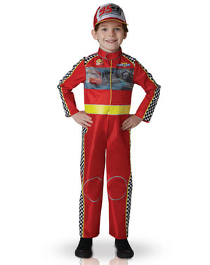 Maskeraddräkt Cars 3 Blixten McQueen för barn