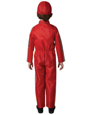 Cars 3 Lightning McQueen kostuum voor kinderen