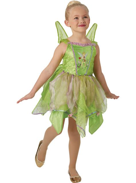 Premium Tinker Bell costume for girls