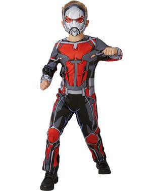 Fato de Homem-Formiga classic para menino