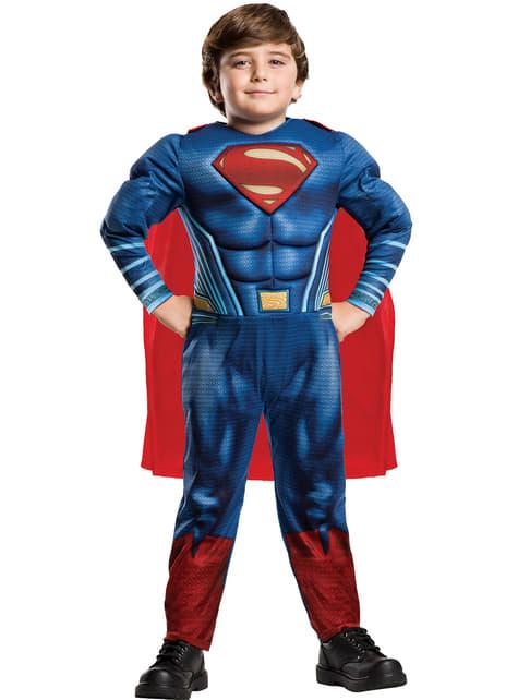 Costum Superman Justice League pentru băiat