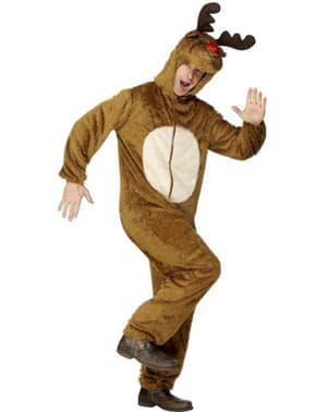 Rudolf het rendier bruin Kostuum
