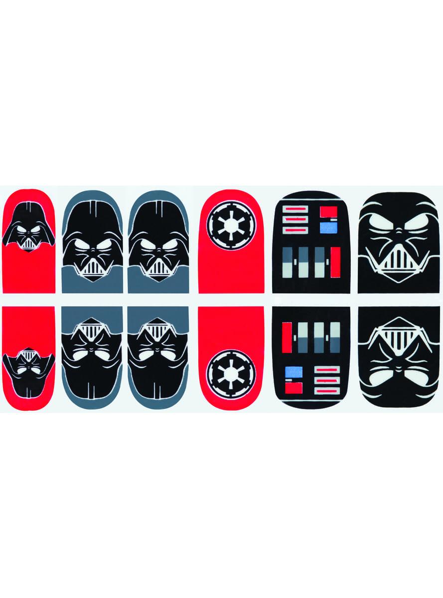Darth Vader nail stickers | Funidelia