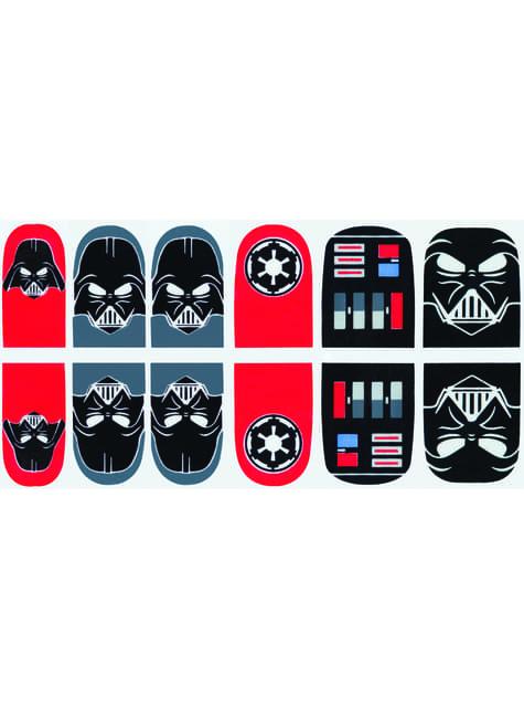 Τα αυτοκόλλητα καρφιών Darth Vader