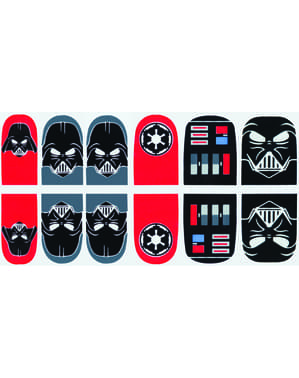 Darth Vader nail stickers