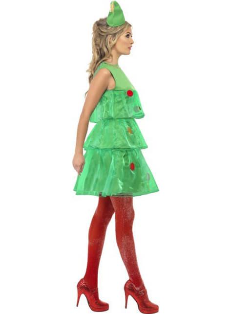Dámsky kostým vianočný stromček
