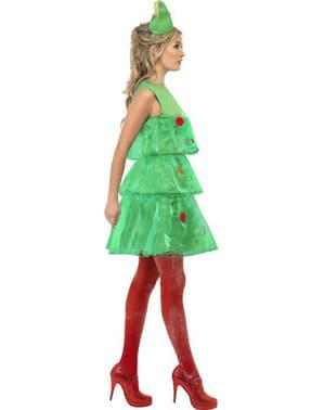 Kerstboom jurk voor vrouw