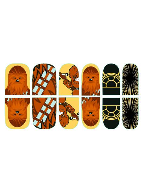 Pegatinas de uñas Chewbacca