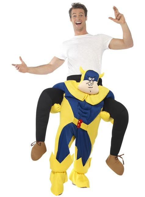 Costum Bananaman ride on pentru adult