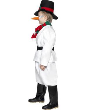 Costum Om de Zăpadă pentru copii