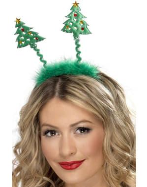 Haarreif Weihnachtsbaum