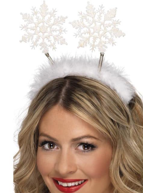 Haarband sneeuwvlokken