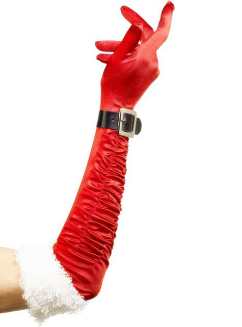 Deluxe Mrs Claus Gloves