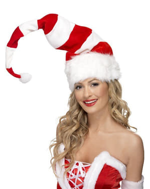 Long Santa Claus Striped Hat