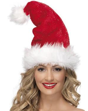 Căciulă Moș Crăciun Deluxe