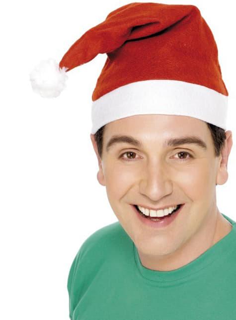 Edullinen Joulupukin lakki