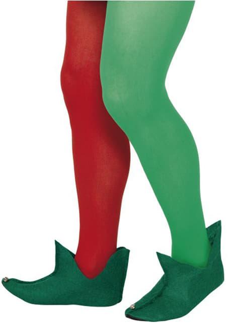 Botas Verdes de elfo