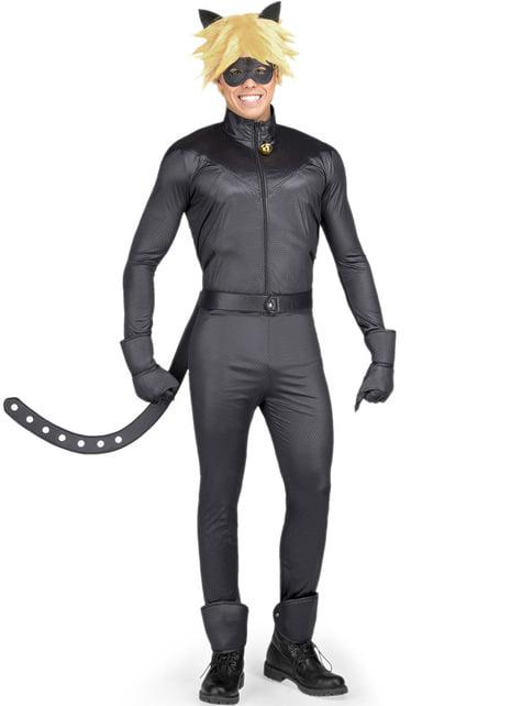 Costum Motan Noir Miraculous Ladybug pentru adult