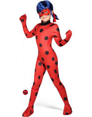 Στολή και Περούκα Ladybug για Κορίτσια