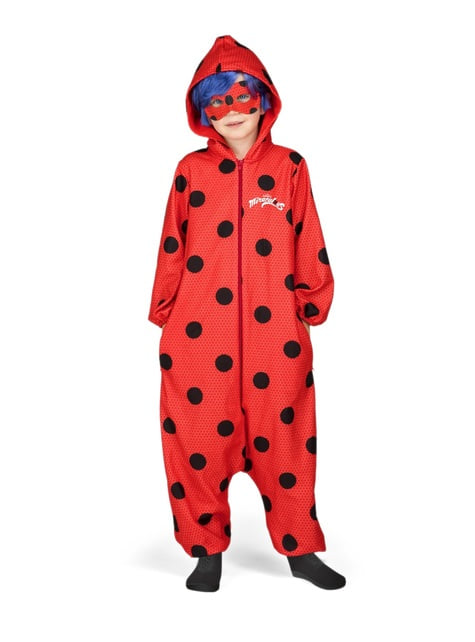 Fato de Ladybug onesie para menina
