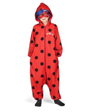 Costum Buburuza Miraculoasa Ladybug salopeta onesie pentru fată