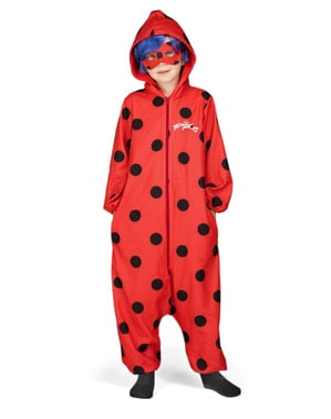 Ladybug onesie costume for girls