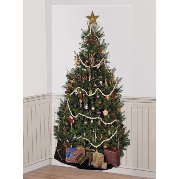 Decoraci n confeti en forma de ngeles dorados para - Arbol de navidad de pared ...