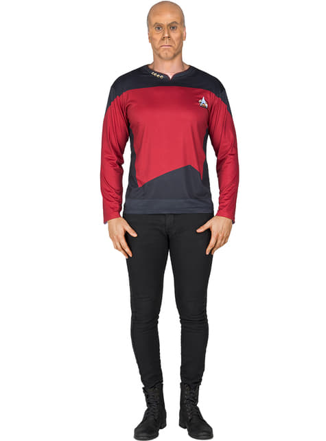 Camiseta de Capitán Picard Star Trek para adulto
