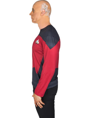 Captain Picard Star Trek T-shirt til voksne