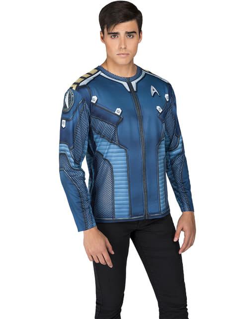 Camiseta de Capitán Kirk Star Trek deluxe para adulto