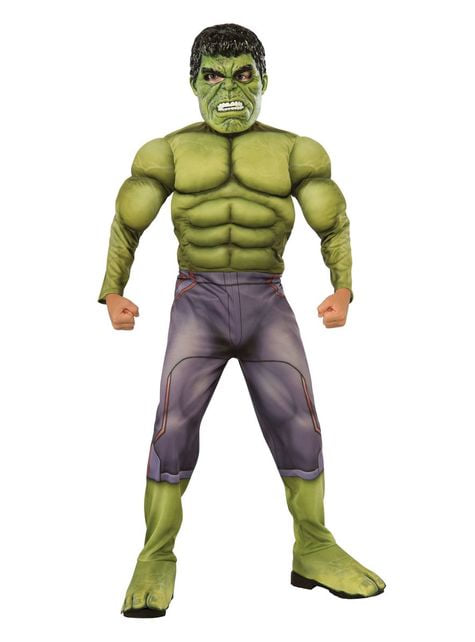 Fato de Hulk musculoso para menino