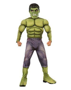 Muskulöser Hulk Kostüm für Jungen