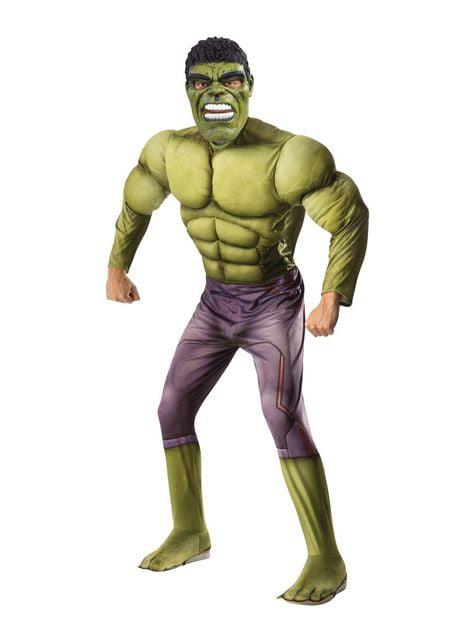 Muskuløs Hulk kostume til mænd