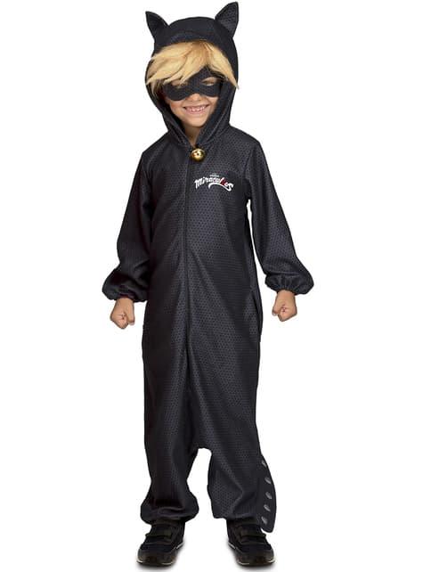 Disfraz de Cat Noir Las Aventuras de Ladybug onesie infantil